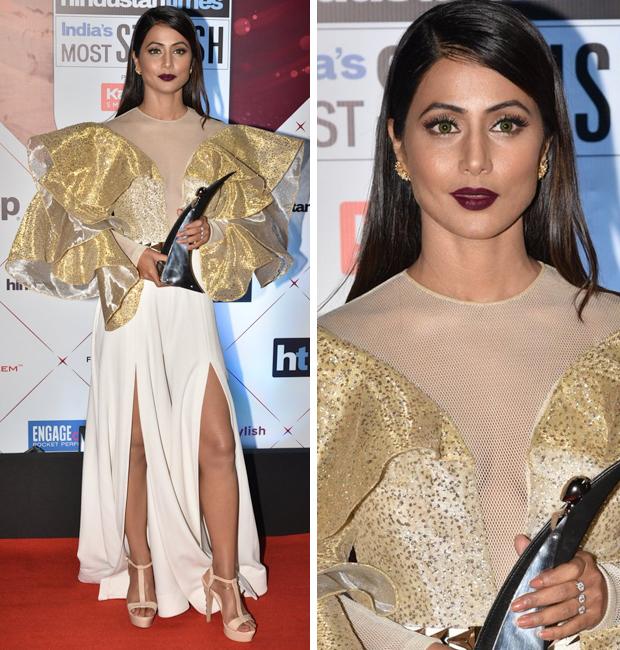 Hina Khan at HT Most Stylish Awards 2018