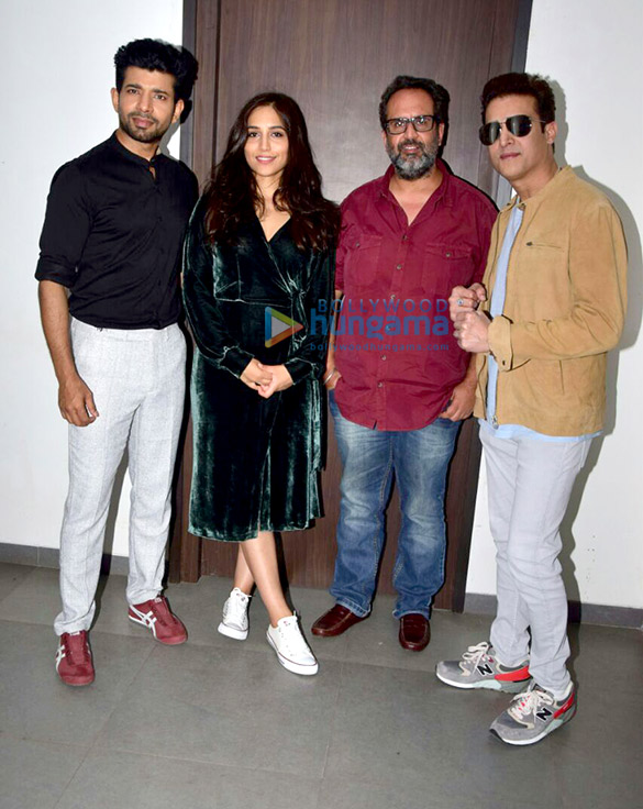 Aanand L. Rai and others promote their film 'Mukkabaaz'
