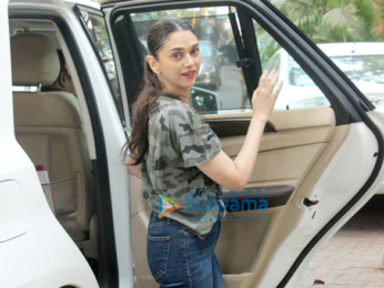 Aditi Rao Hydari spotted at Hakim's Aalim salon in Bandra