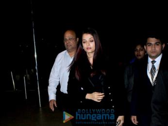 Aishwarya Rai Bachchan, Sidharth Malhotra and others snapped at the airport