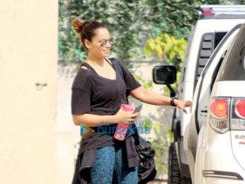 Bipasha Basu snapped at her gym