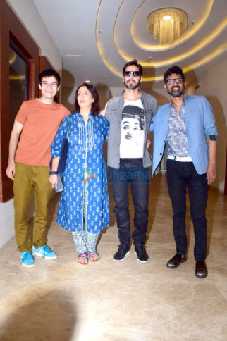 Celebs grace Maa trailer launch