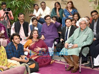 Celebs grace Shabana Azmi's poetry session