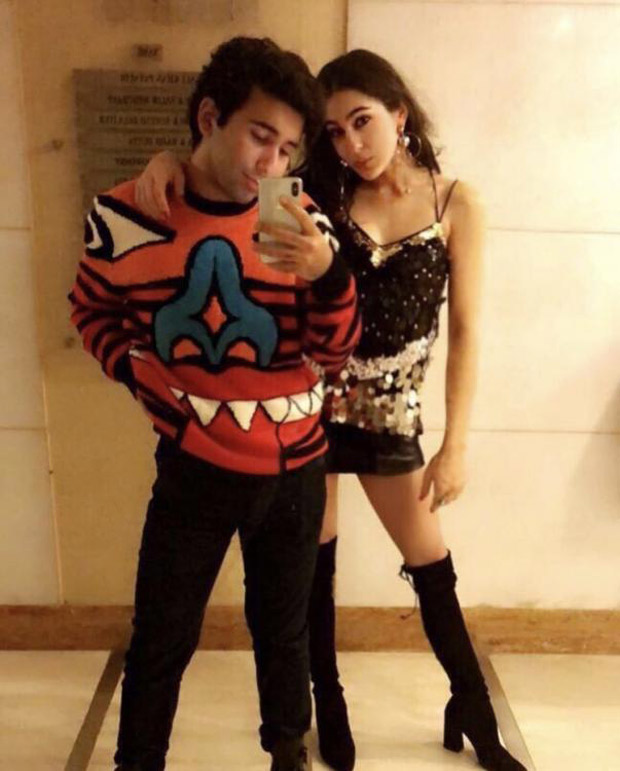 Check out Sara Ali Khan shines in a shimmery outfit with dad Saif Ali Khan (3)