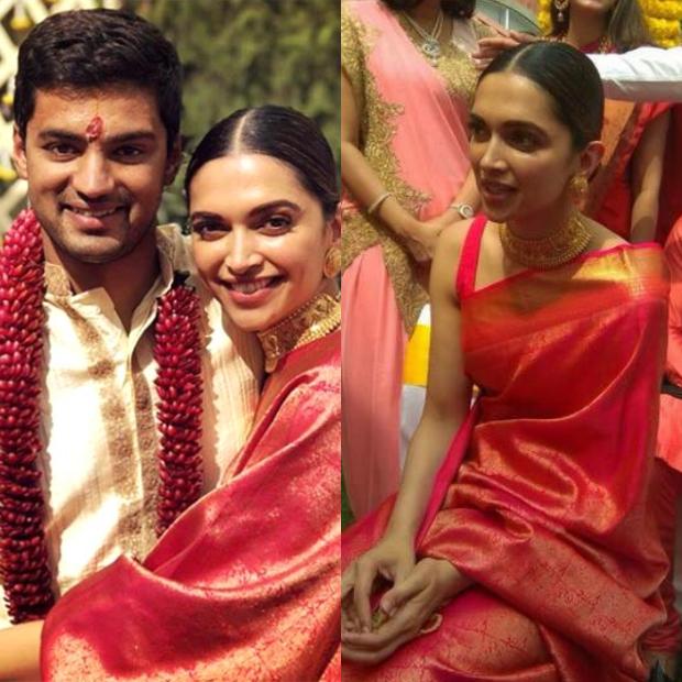 Deepika Padukone attending her childhood friend Aditya Narayan's wedding