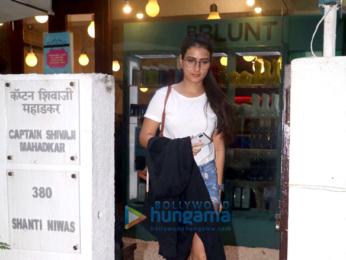 Fatima Sana Shaikh spotted at BBLUNT