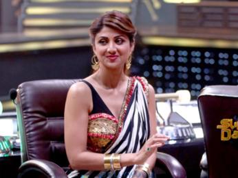 Ganesh Acharya and Shilpa Shetty on the sets of 'Super Dancer Chapter 2'
