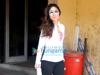 Kareena Kapoor Khan spotted at the gym