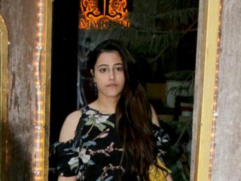 Kriti Sanon and her sister snapped outside Mahera spa