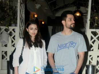 Kunal Khemu and Soha Ali Khan snapped in Mumbai