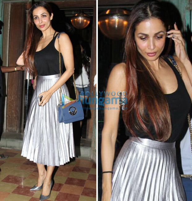 Malaika Arora has a thing or two for metallic, bling and all things shimmery-1