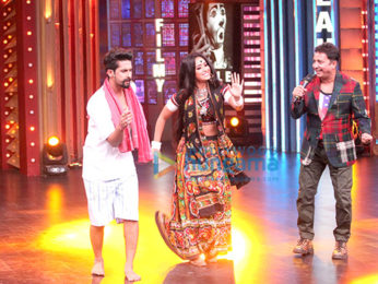 Mallika Sherawat and Sohail Khan on the sets of Entertainment Ki Raat