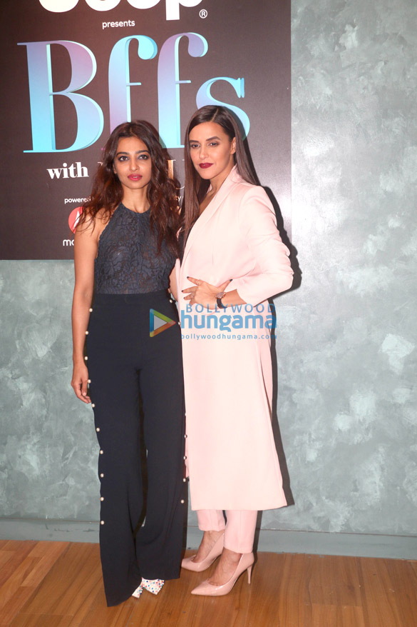 Rajkummar Rao, Radhika Apte, Neha Dhupia snapped on Vogue BFFs set