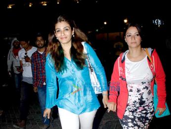 Ranveer Singh, Ananya Pandey and Raveena Tandon spotted at Bandra