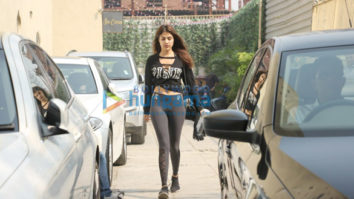 Rhea Chakraborty and Nidhi Agerwal snapped at Reset gym