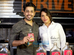 Richa Chadda unveils a new cocktail at True Tramm Trunk in Juhu