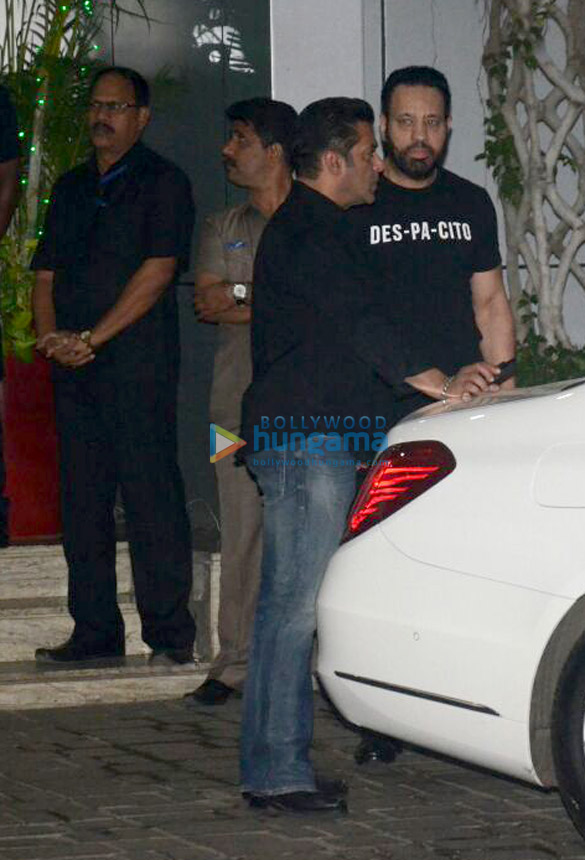 Salman Khan snapped after appearing in court