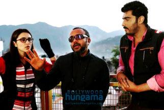 On The Sets Of The Movie Sandeep Aur Pinky Faraar