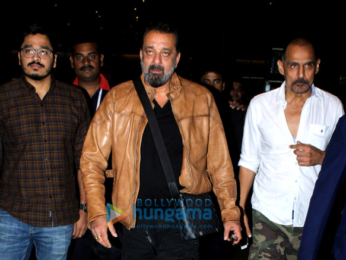 Sanjay Dutt, Suniel Shetty and others snapped at the airport