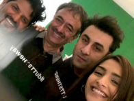 On The Sets Of The Movie Sanjay Dutt's Biopic