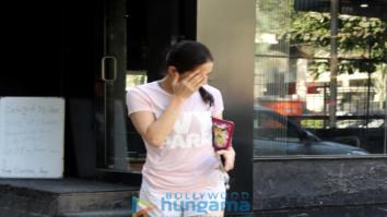 Sara Ali Khan spotted at Tip And Toe salon, Juhu