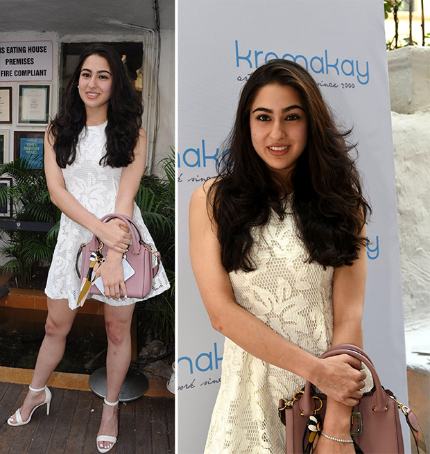 Sara Ali Khan at a salon