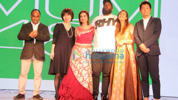 Shilpa Shinde, Sharad Kelkar and Rashmi Sharma at the announcement of the film 'MUM 48'