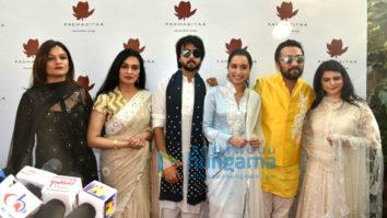 Shraddha Kapoor and Sonam Kapoor snapped at the Padmasita event