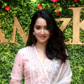 Shraddha Kapoor spotted at a wedding exhibition