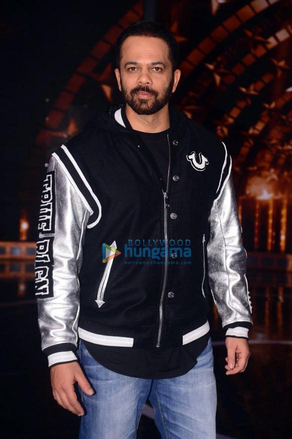 Sidharth Malhotra, Karan Johar and Rohit Shetty snapped on the sets of India's Next Superstars (6)