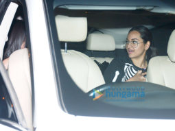 Sonakshi Sinha spotted at Harry's Cafe, Juhu