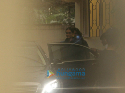 Sonam Kapoor and R. Balki snapped at Sunny Super Sound in Juhu
