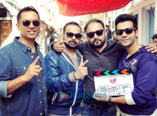 On The Sets Of The Movie Stree