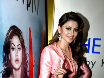Urvashi Rautela snapped at the song launch of 'Aashiq Banaya Aapne' from Hate Story IV