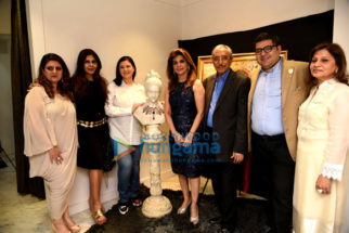 Raina Sachiin Joshi at Ghanasingh Be True for Bina Aziz's art meets jewellery event