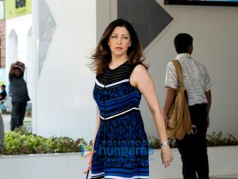 Aditi Govitrikar snapped in Lower Parel