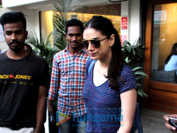 Aditi Rao Hydari and Sophie Choudry spotted at Sequel