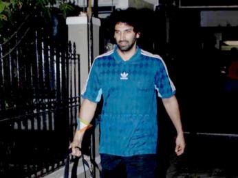 Aditya Roy Kapur snapped at Mohit Suri's office