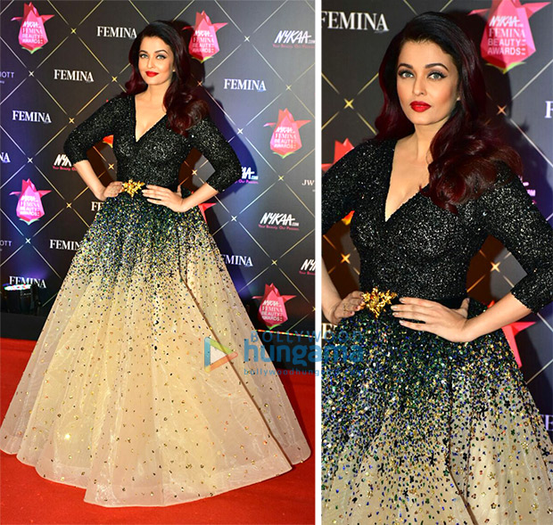 Aishwarya Rai Bachchan at Nykaa.com Femina Beauty Awards 2018