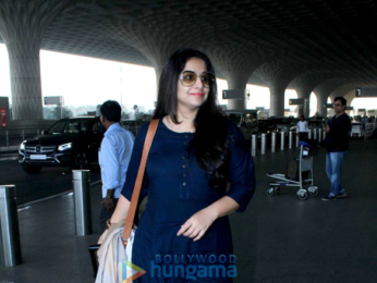 Shraddha Kapoor and Vidya Balan snapped at the airport