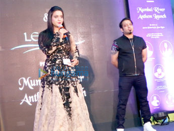 Amruta Fadnavis launches Mumbai River Anthem