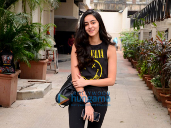Ananya Panday spotted after salon session in Bandra