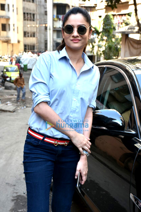 Ankita Lokhande spotted at Malad