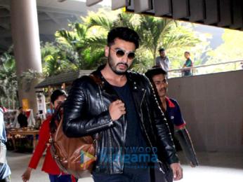 Arjun Kapoor arrives from Amritsar to reach Anil Kapoor's residence