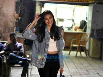 Athiya Shetty spotted at Kromakay Juhu