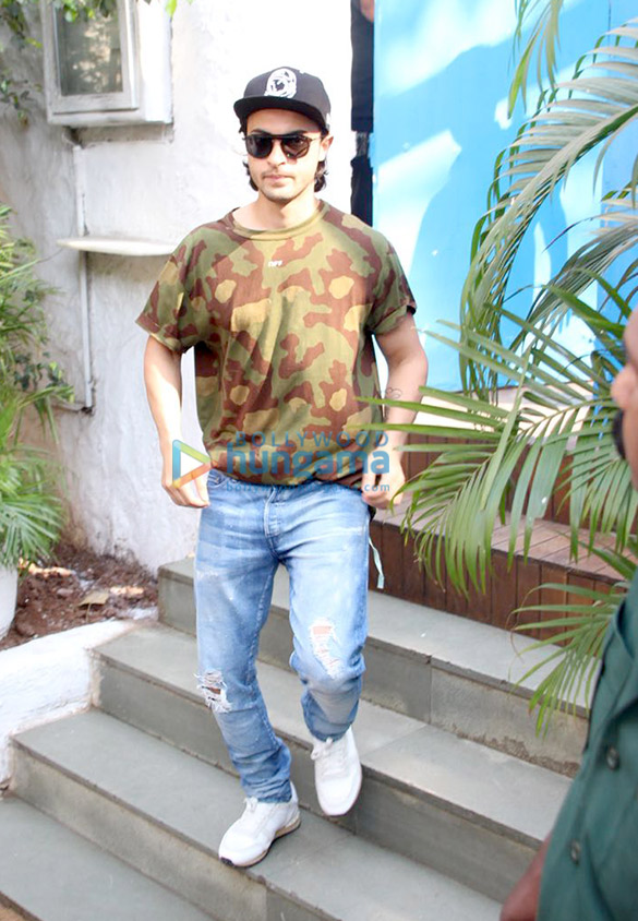 Ayush Sharma spotted at Olive