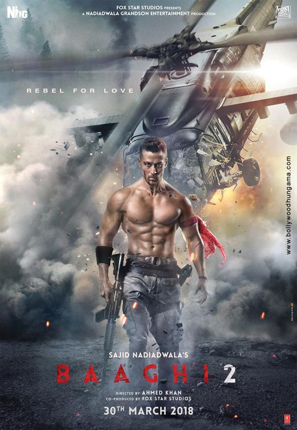BAAGHI 2 (2018) con TIGER SHROFF + Jukebox + Sub. Español + Online Baaghi-2-005