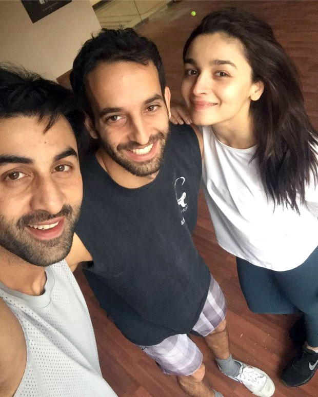 Brahmastra: Ranbir Kapoor and Alia Bhatt strike a pose during the training session in Bulgaria