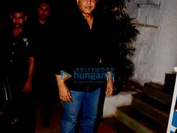 Celebs grace Manmohan Shetty's birthday party at Olive in Bandra