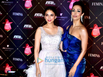 Celebs grace the 4th edition of the Nykaa Femina Beauty Awards 2018